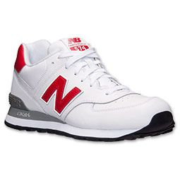 size 40 e4382 99b74 Men's New Balance 574 Leather Casual Shoes | Rihanna | Mens ...