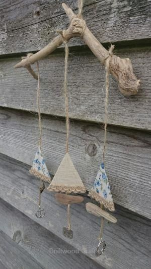 Photo of Sailboat Driftwood Hanger by olive