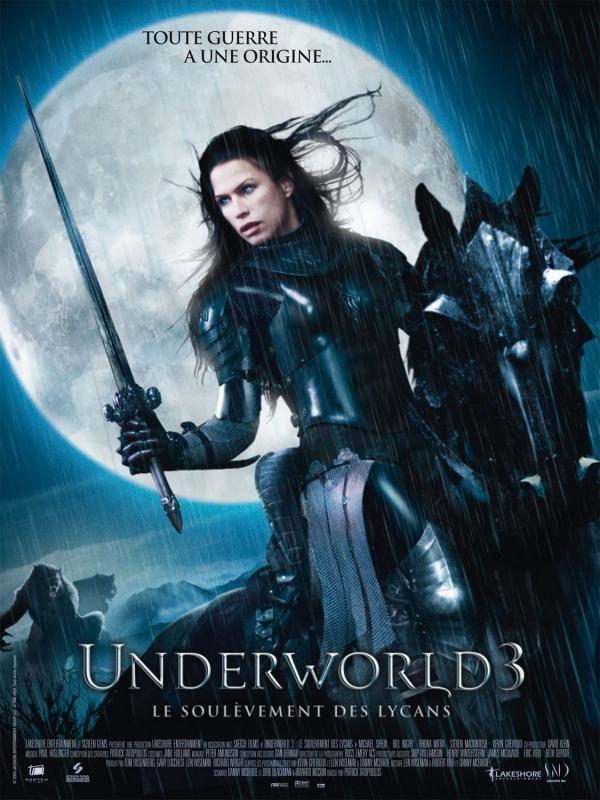 Underworld Rise Of The Lycans Underworld Aufstand Der Lykaner 2009 Unterwelt Filme Filmposter