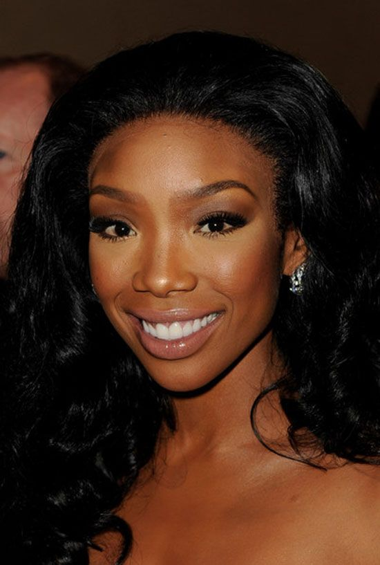 Brandy In A Lace Front Wig Very Flattering Celebrities Wearing