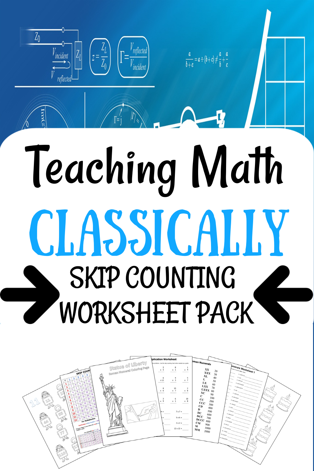 Classical Math Worksheets How To Memorize Things Math Facts Math [ 1500 x 1000 Pixel ]
