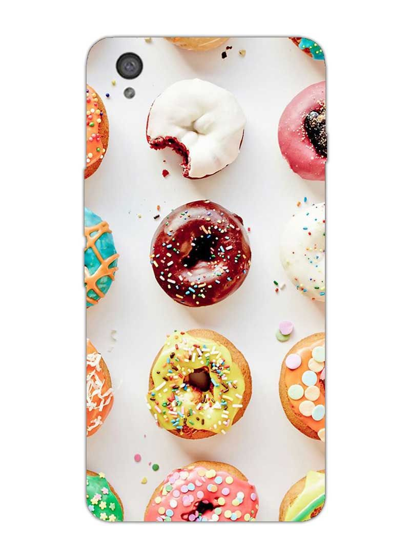Donuts - Designer Mobile Phone Case Cover for OnePlus X