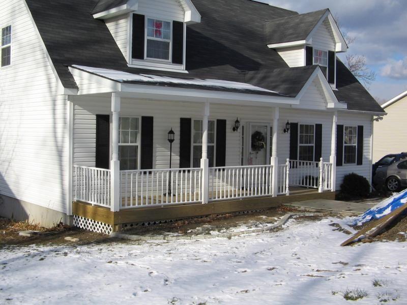Hudson Valley Contractors Porch Addition House Exterior Farmers Porch