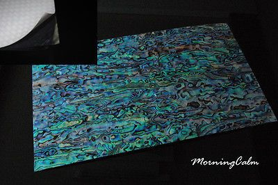 Details About Blue Paua Coated Enhanced Adhesive Veneer Sheet Shell Inlay Abalone Cheap Craft Supplies Veneers Storing Craft Supplies