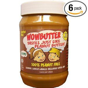 Safe 4 School Wowbutter Tastes Just Like Peanut Butter Creamy 17 6 Oz Pack Of 6 Peanut Free Foods Peanut Butter Alternatives Peanut Butter Replacement