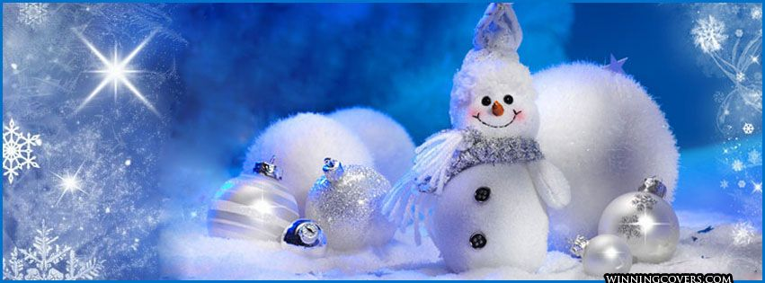 Happy Holidays frosty the snow man timeline covers for ...