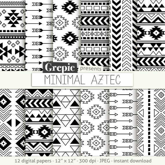 Aztec digital paper: \