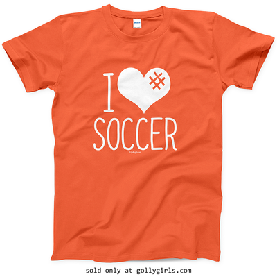 46ca03acc Golly Girls: I Hashtag Heart Soccer T-Shirt (Youth & Adult Sizes) only at  gollygirls.com