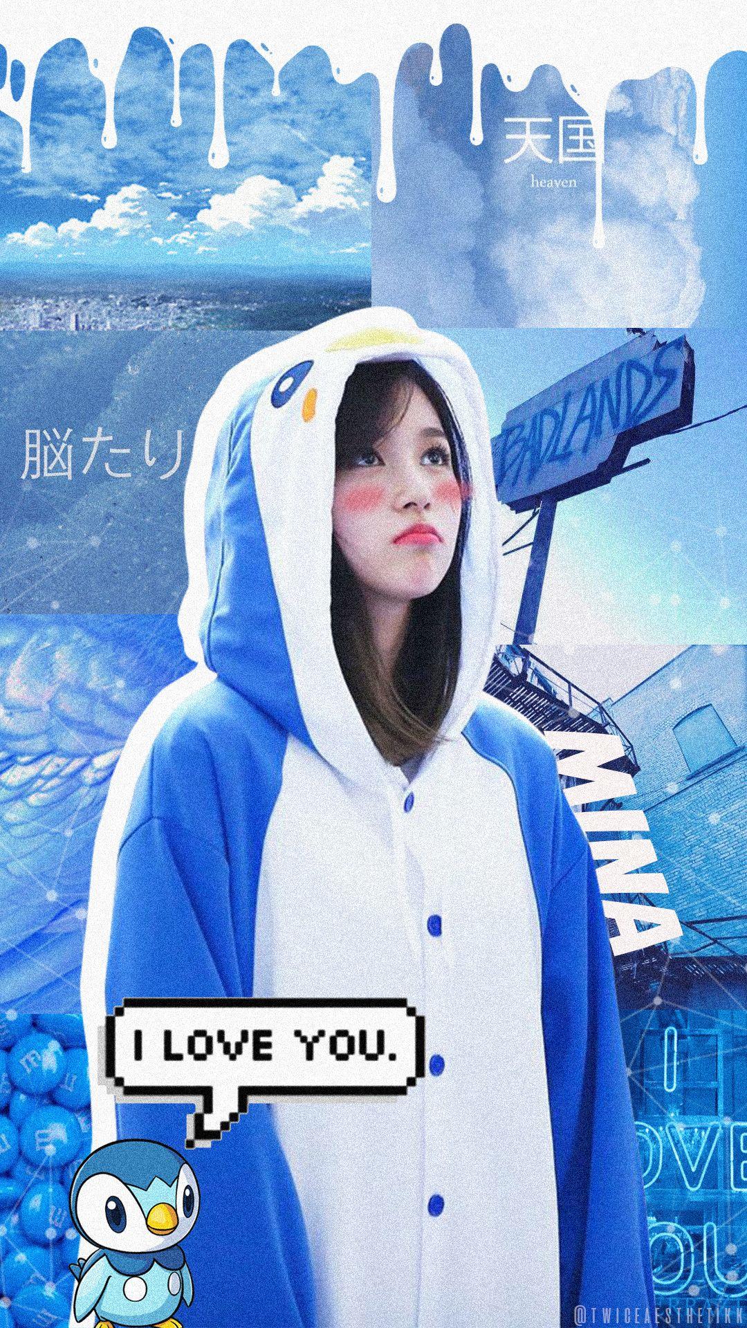 Twice Mina In Penguin Suit Twice Aesthetic Twice Mina Aesthetic Twiceaesthetic Follow Me On Twt Twiceaesthetikk Mina Penguin Wallpaper Penguins