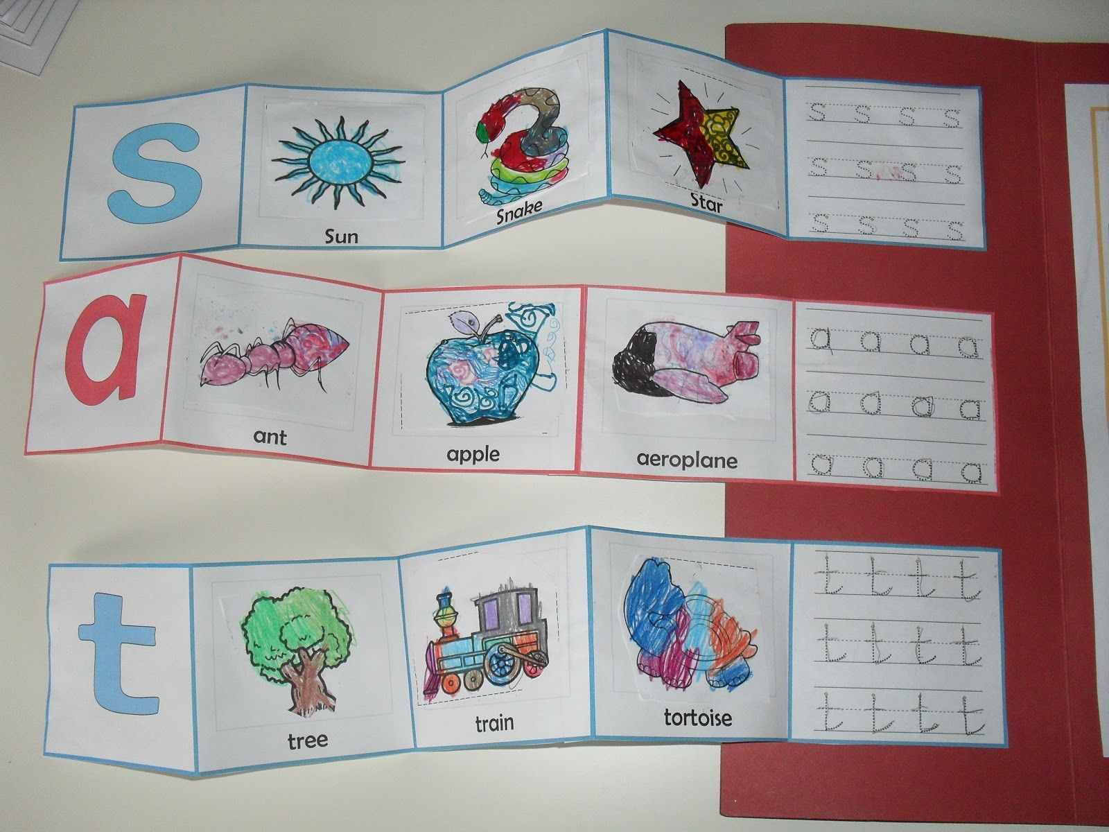Jolly Phonics Lapbook With A Montessori Twist