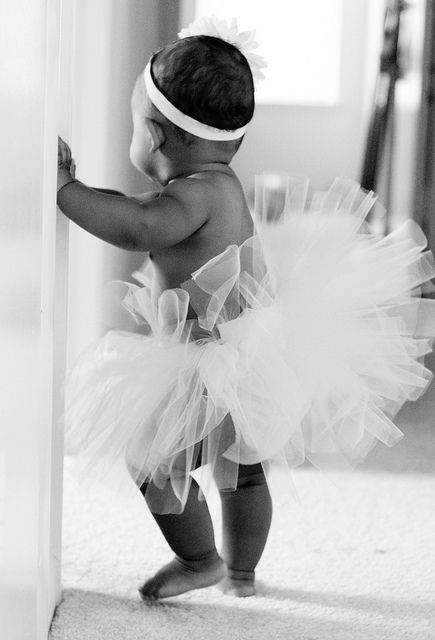 Your Black And White Shots Group 2 Baby Ballet Ballerina Girl