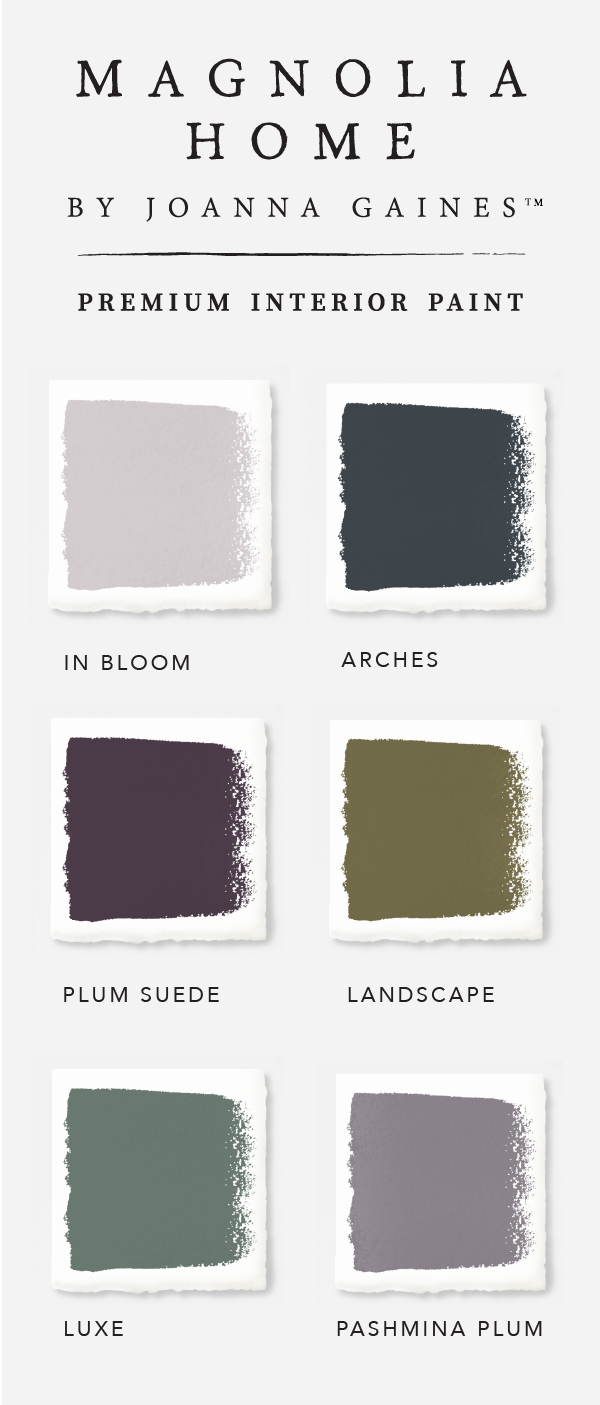 Check out this bold and moody color palette from the Magnolia Home ...