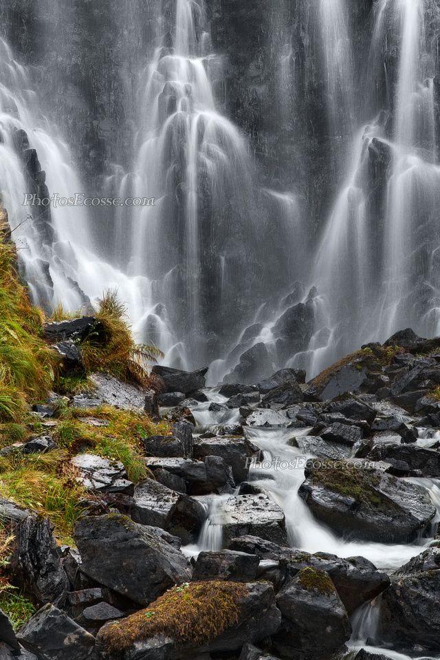 Clashnessie Curtain Falls Assynt North West Highlands Scotland Scottish Landscape Scenic Landscape Landscape