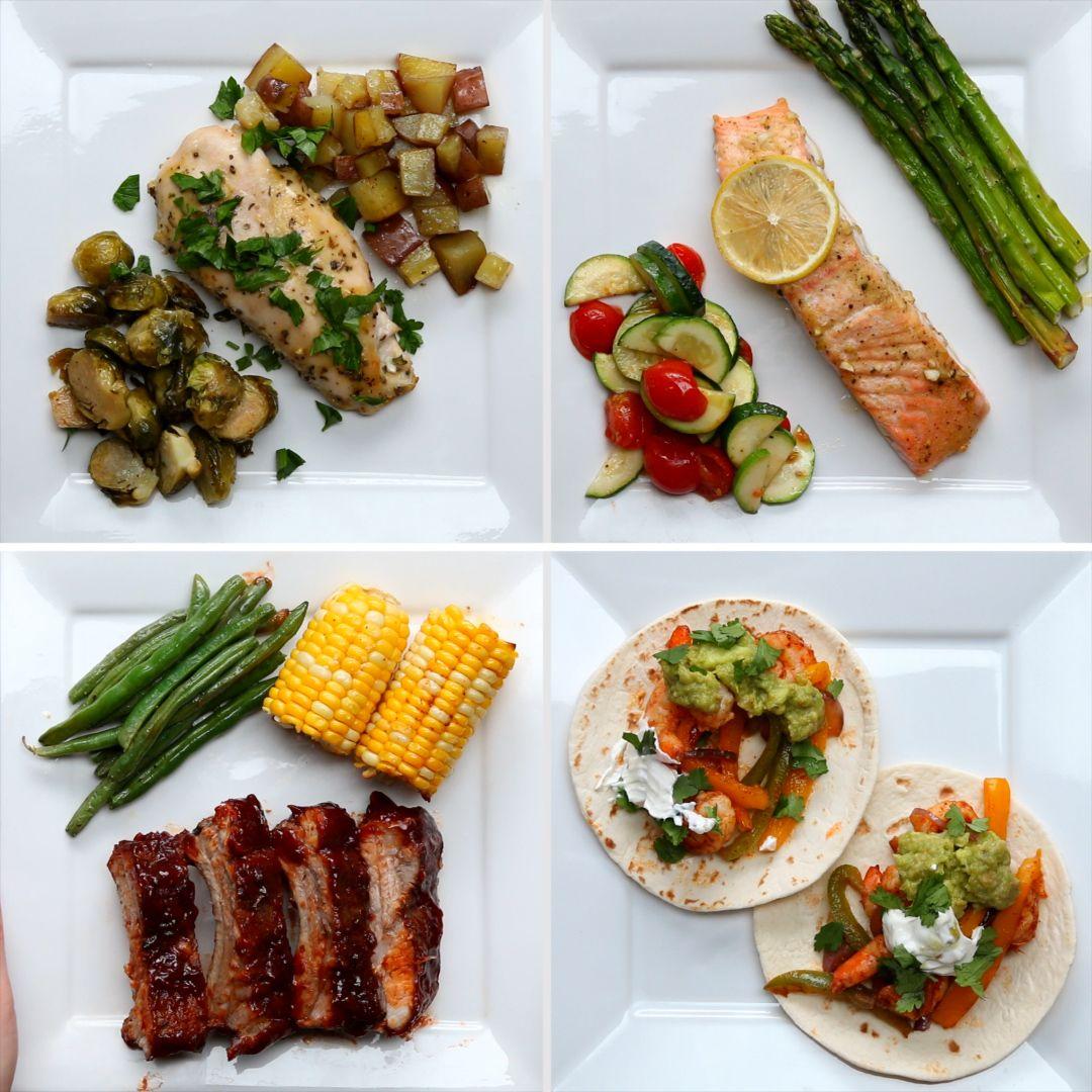 4 sencillas cenas para preparar con tus pequeños #TastyJunior