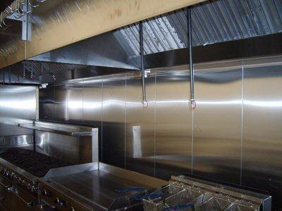 Stainless Steel Hoods Restaurant Hoods Exhaust Fans Blowers
