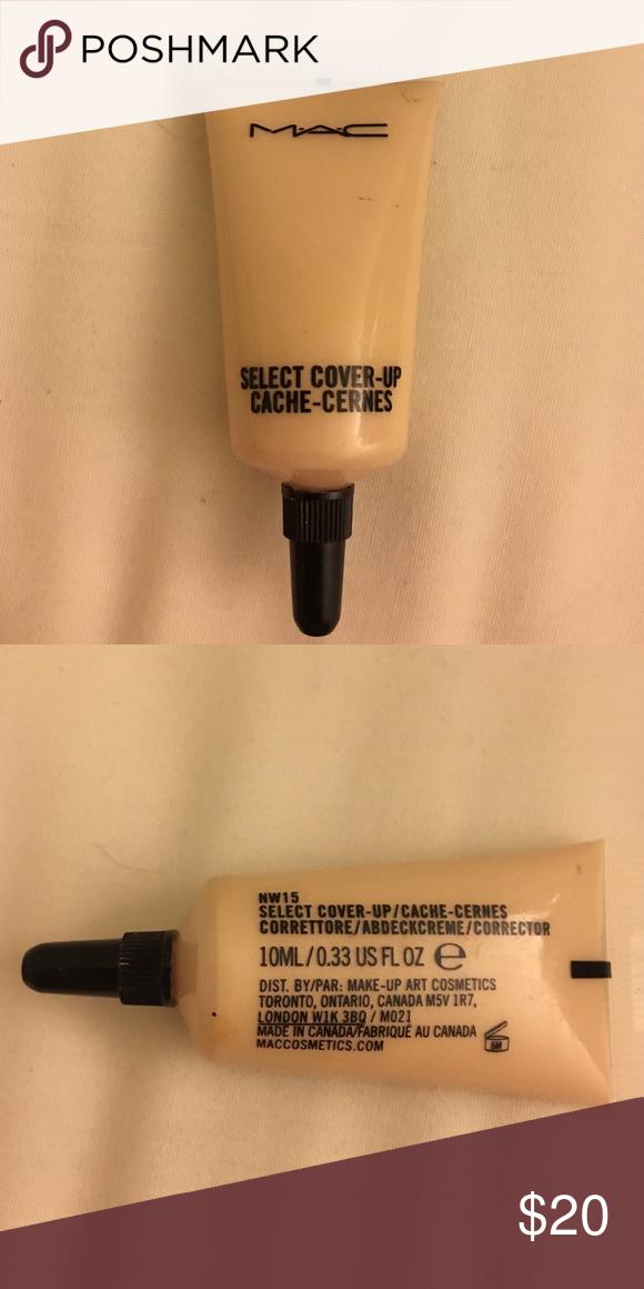 MAC Select Cover Up Concealer NW15 Concealer, Make up