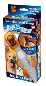 Pedi Paws Dog Nail Grinder By Bulbhead Remove The Top And