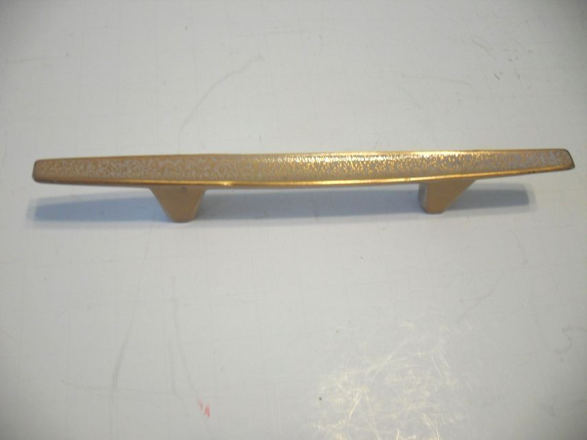 art deco kitchen cabinet hardware vtg 60 s nos coppery speckled mid century drawer pulls 7508