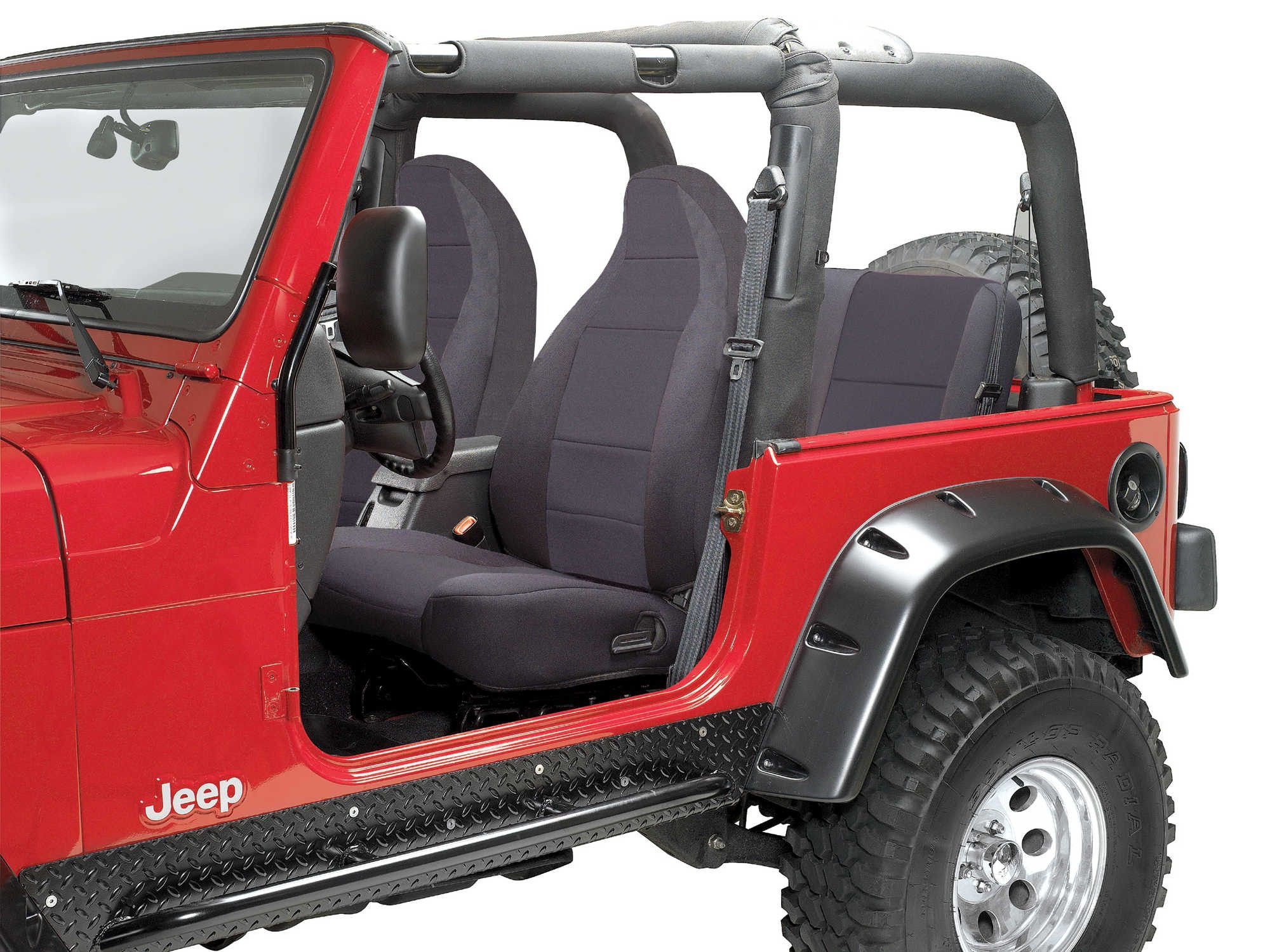 Coverking Custom Front Seat Covers for 9702 Jeep Wrangler