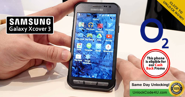 the latest 3a1ea f8a1c Howto #Unlock Samsung Galaxy Xcover 3 from O2 by Unlock Code   A ...
