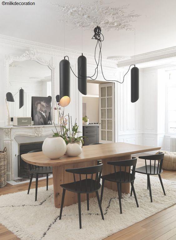 Id es d co pour votre salle manger salle manger avec - Deco salle a manger contemporaine ...