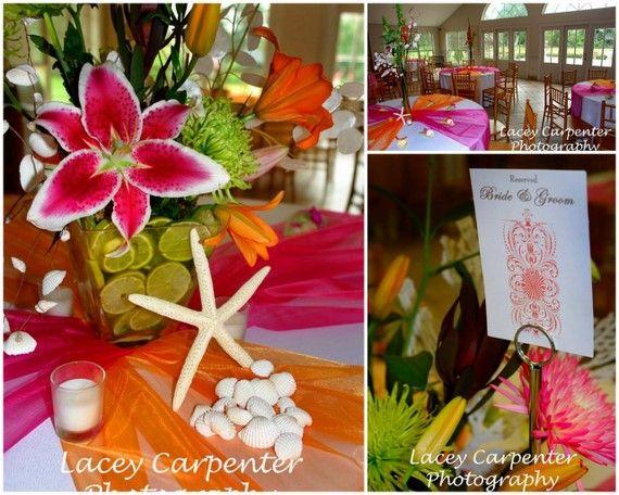 Ideas For The Tropical Themed Wedding: Best 25+ Tropical Wedding Reception Ideas On Pinterest