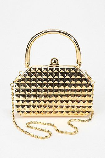 Deena & Ozzy Pyramid Hard-Case Pouch - Urban Outfitters