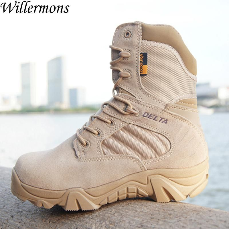 Military Tactical Boots Fashion Desert Combat Outdoor Army