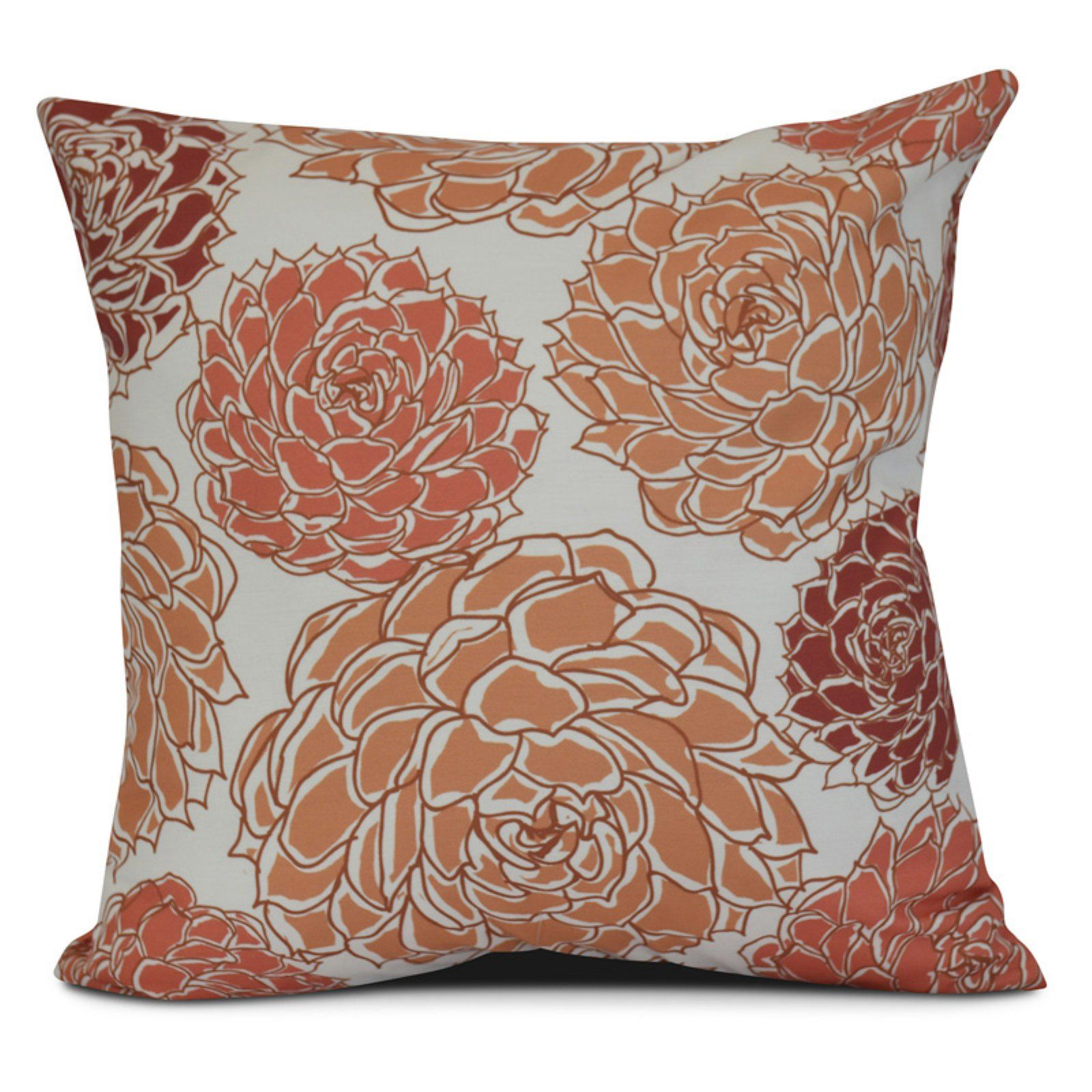 E By Design Floral 10 Outdoor Throw Pillow Green In 2019 Products