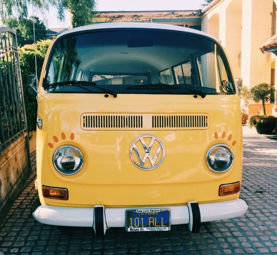 Color Yellow Aesthetic Morealivewithcolor Retro Car Yellow