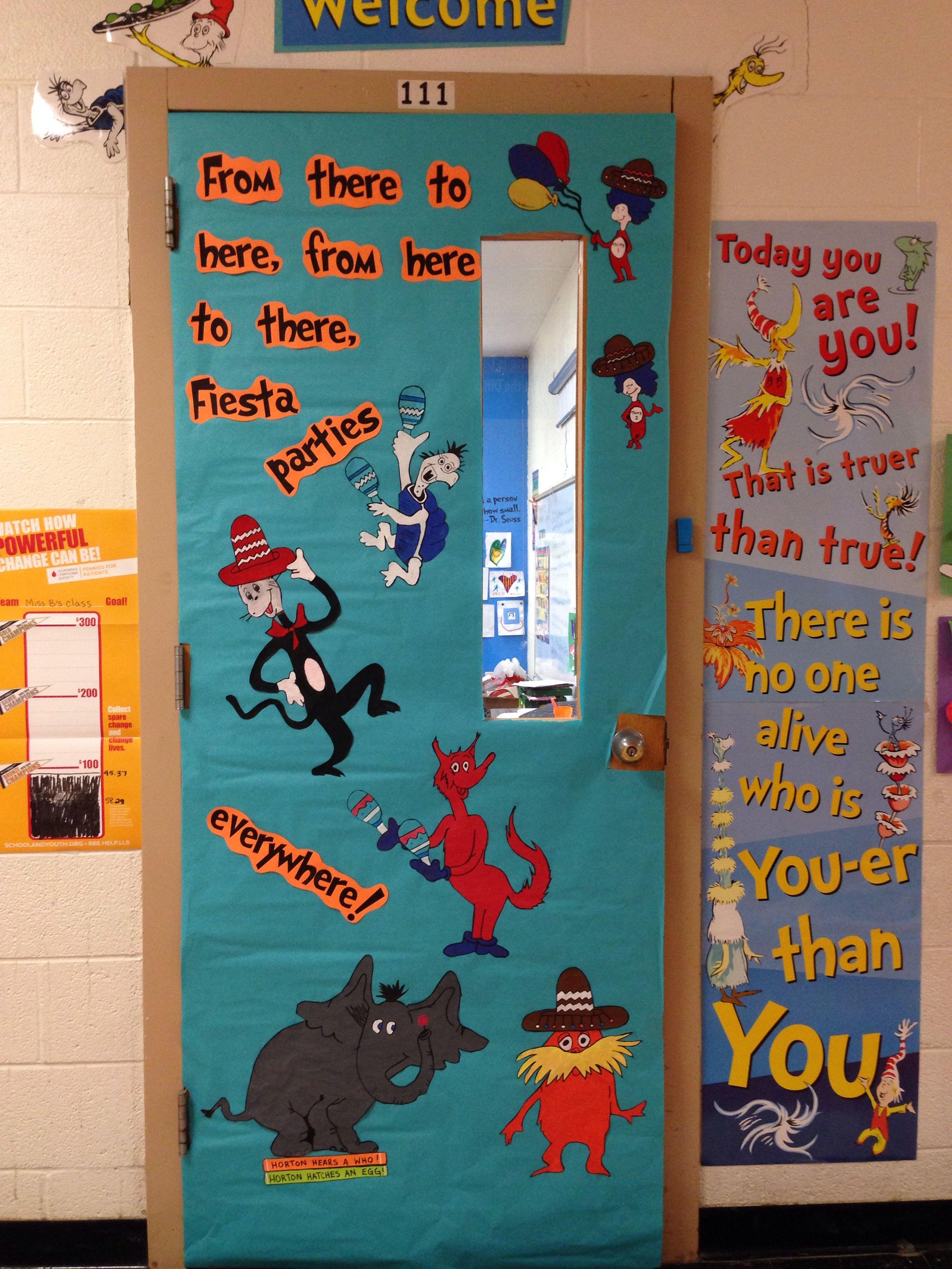 Dr Seuss Fiesta Door