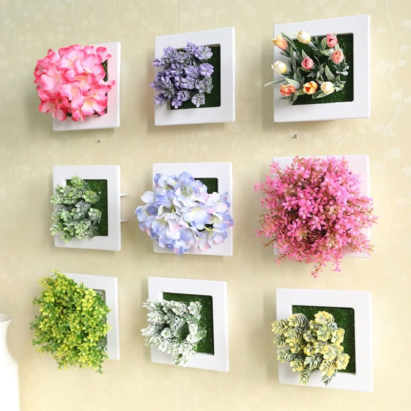 Wedding decoration 3d artificial flowers stereo artificial plants wedding decoration 3d artificial flowers stereo artificial plants wall decorative painting silk flowers decor frame fake junglespirit Gallery
