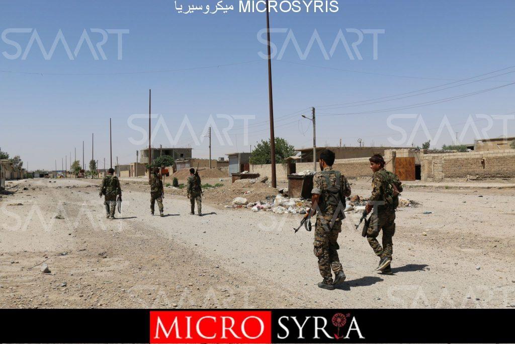 مصدر بـالحر: النظام يسيطر على قريتين جنوب شرق الرقة بعد اتفاق مع قسد