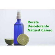 ¿Como preparar desodorantes naturales? Recetas desodorantes