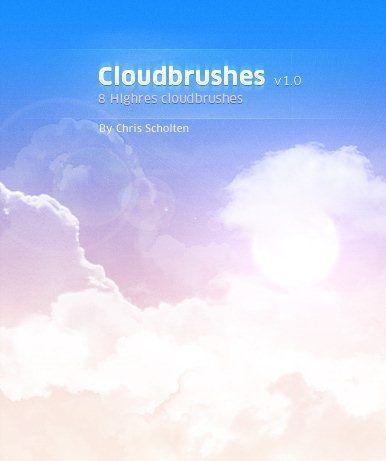 cloud brushes photoshop brushes pinterest cloud