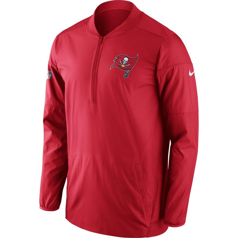 6fab0a51 Tampa Bay Buccaneers Nike Sideline Performance Jacket - Red | Tampa ...