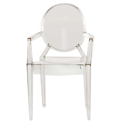 The Kartell Lou Lou   Baby Ghost Chair   Childrens Designer Furniture