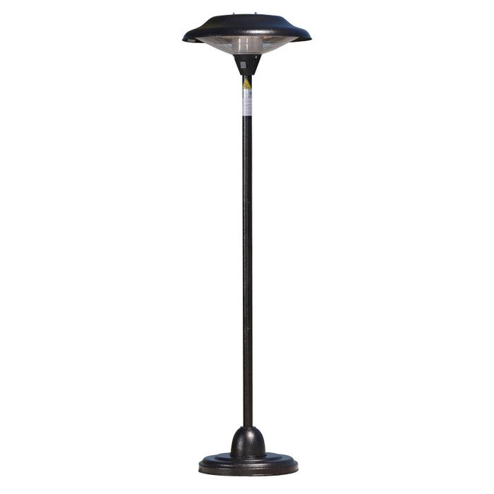 You Ll Love The Floor Standing Electric Patio Heater At Wayfair Great Deals On All Outdoor Products With Free Shipping On Most Stuff Even The Bi Patio Heater