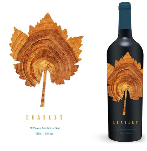 Love The Die Cut And Natural Look To This Wine Label  Dbk