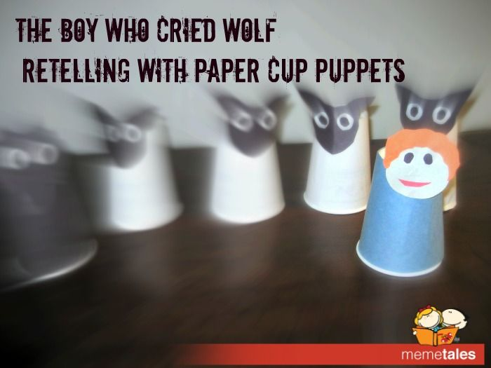 The Boy Who Cried Wolf Puppets