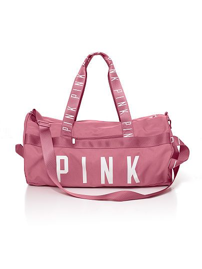 798bb7d880 Gym Duffle - PINK - Victoria s Secret