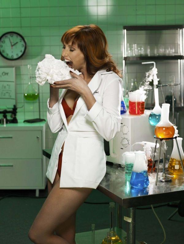 kari byron naked in the lab