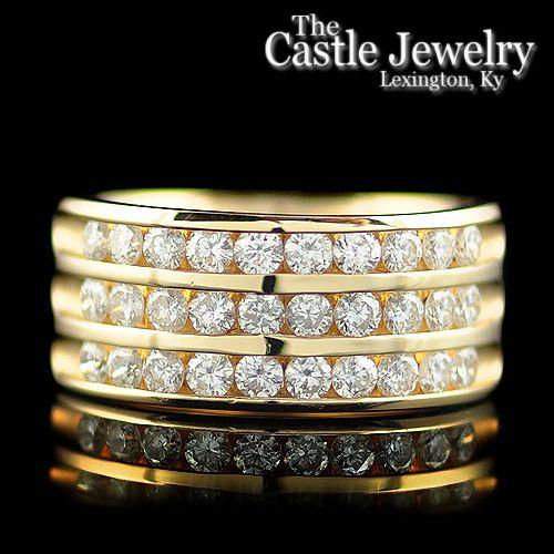 Channel Set Diamonds 1.20 CTTW $895.00