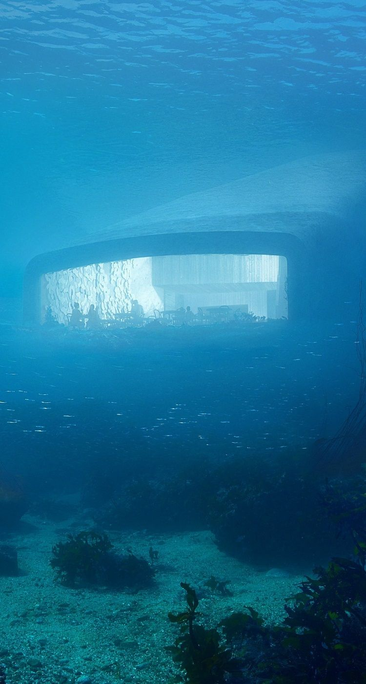 Take A Look At Europe S First Underwater Restaurant Man Of Many Underwater Restaurant Underwater Architecture