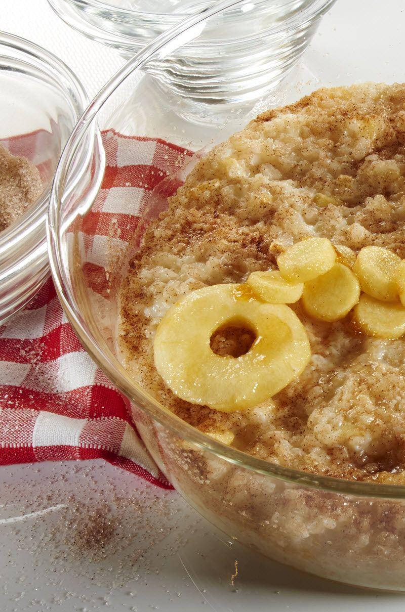 Apfel-Milchreis-Auflauf für Kinder | Rezept | Kochen und ...