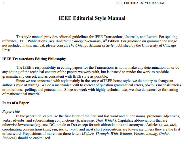ieee ieee editorial style manual from ieee org ieee style pinterest rh pinterest com ANSI Standards ANSI Standards