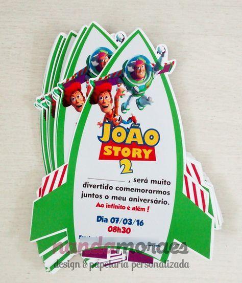 Convite Toy Story Invitaciones Toy Story Fiestas