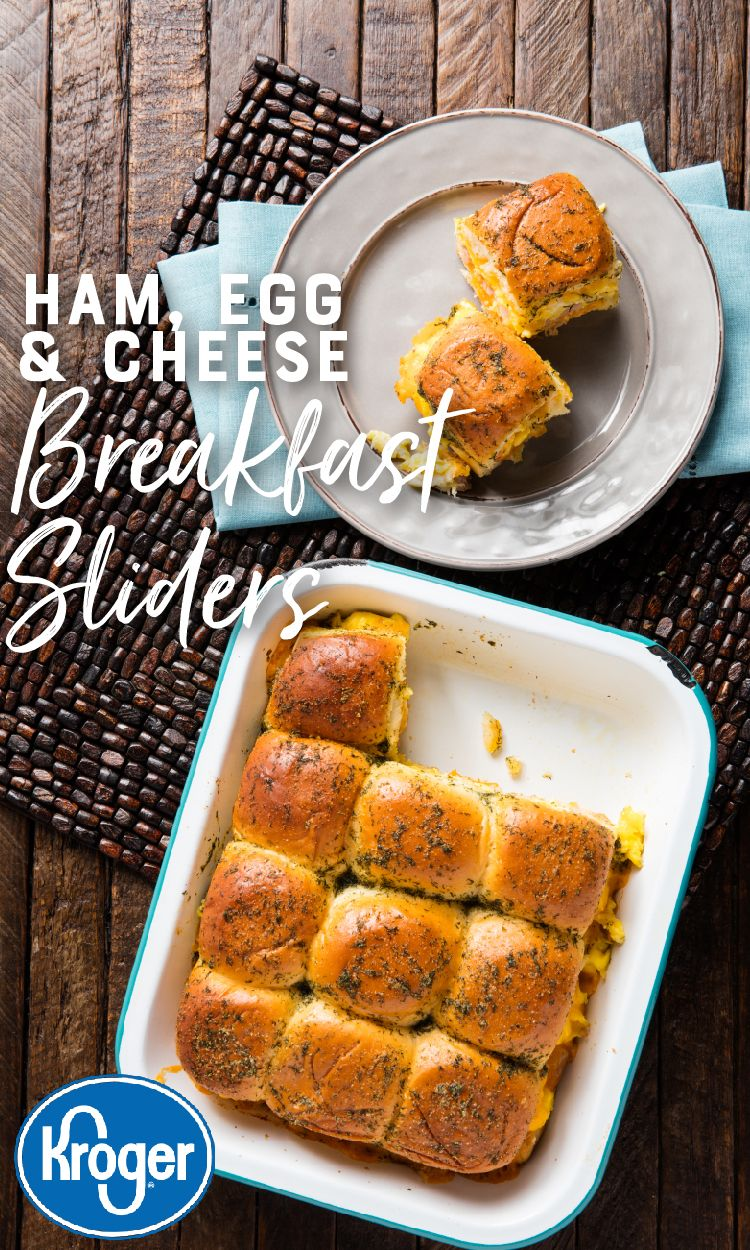 Ham, Egg and Cheese Breakfast Sliders images