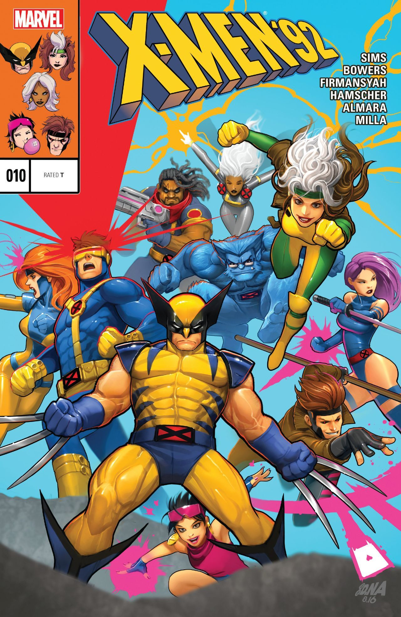 X Men 92 2016 10 Comics By Comixology Marvel Comics Art Marvel Superheroes X Men