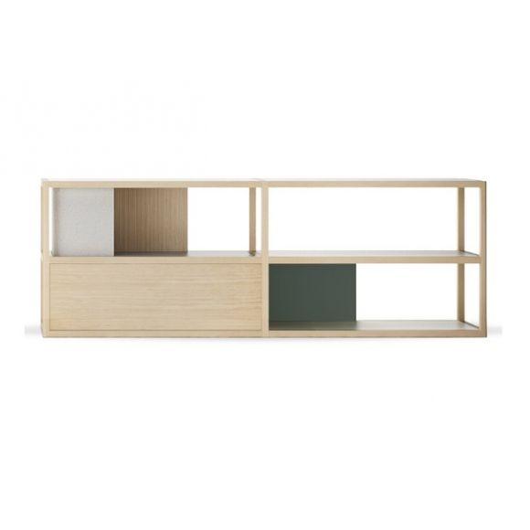 etagere meuble tv kai 230,5cm - treku | consoles, buffet and bureaus - Meuble Tv Composable Design